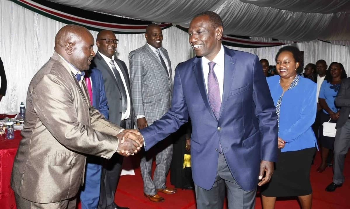 Ruto in meeting with Waiguru a day after polls ranked them most corrupt leaders