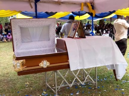 Emotions run high as Journalist Dennis Omondi is laid to rest in Busia