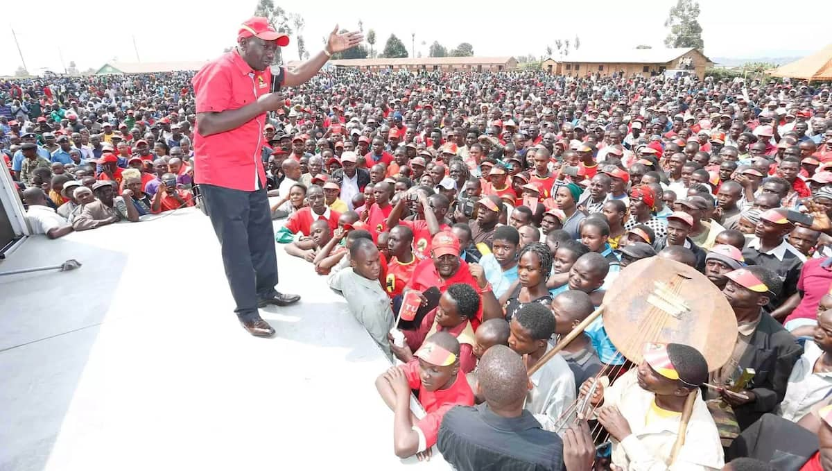 DP Ruto's reaction after Raila Odinga was heckled in Jubilee strongholds