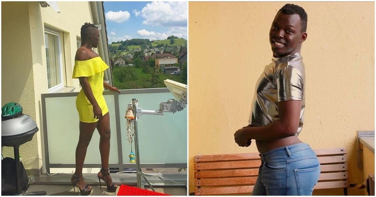 Proud Kenyan gay, Chokuu, rocking it in Europe with her multiple ...