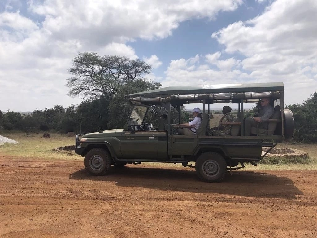 All the photos of US First Lady Melania Trump's visit in Kenya