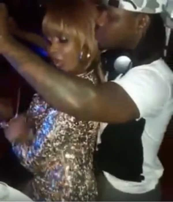 Rapper Timmy Tdat spotted in tight embrace with ex-lover Kush Tracey after beating her up