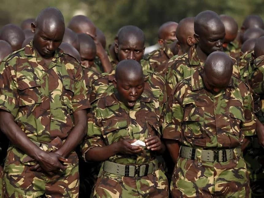 One of the KDF soldiers killed in bomb explosion identified