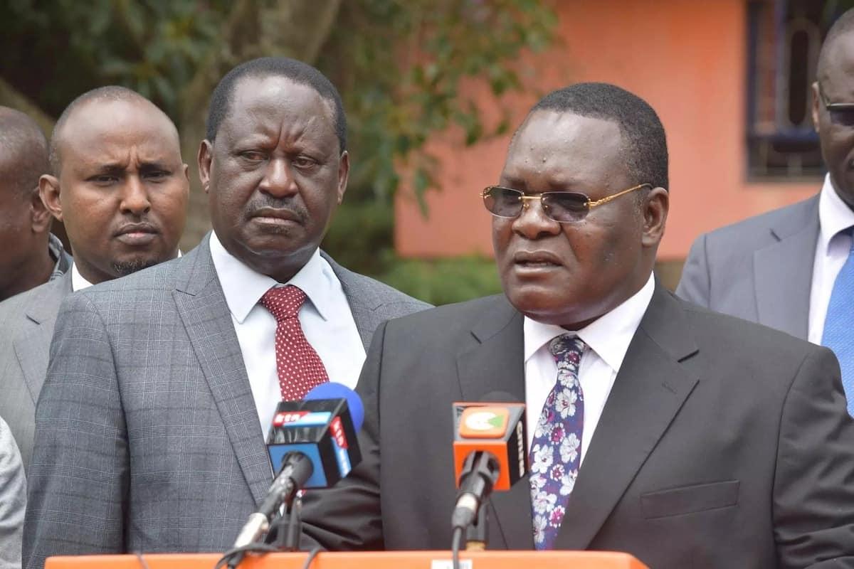 Raila denies he will tour Nyanza with Uhuru