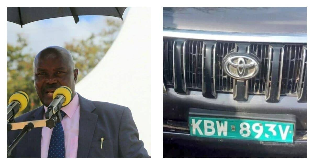 Kitui deputy governor's car recovered in Mombasa, driver still missing