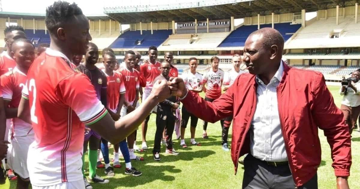 Ruto aahidi KSh 50 milioni kwa Harambee Stars ikiwa itaishinda Ethiopia