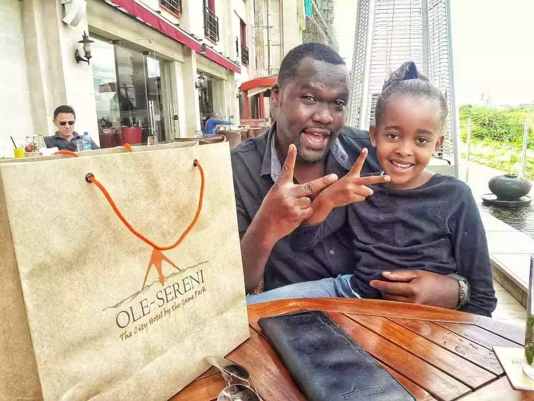 Popular radio presenter Nick Odhiambo shares never seen before photos of daughter and she's gorgeous AF