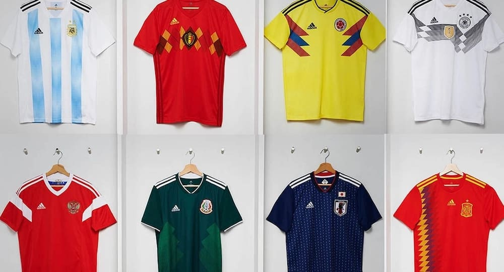 d3f8a64e070 2018 World Cup kits ▷ Tuko.co.ke