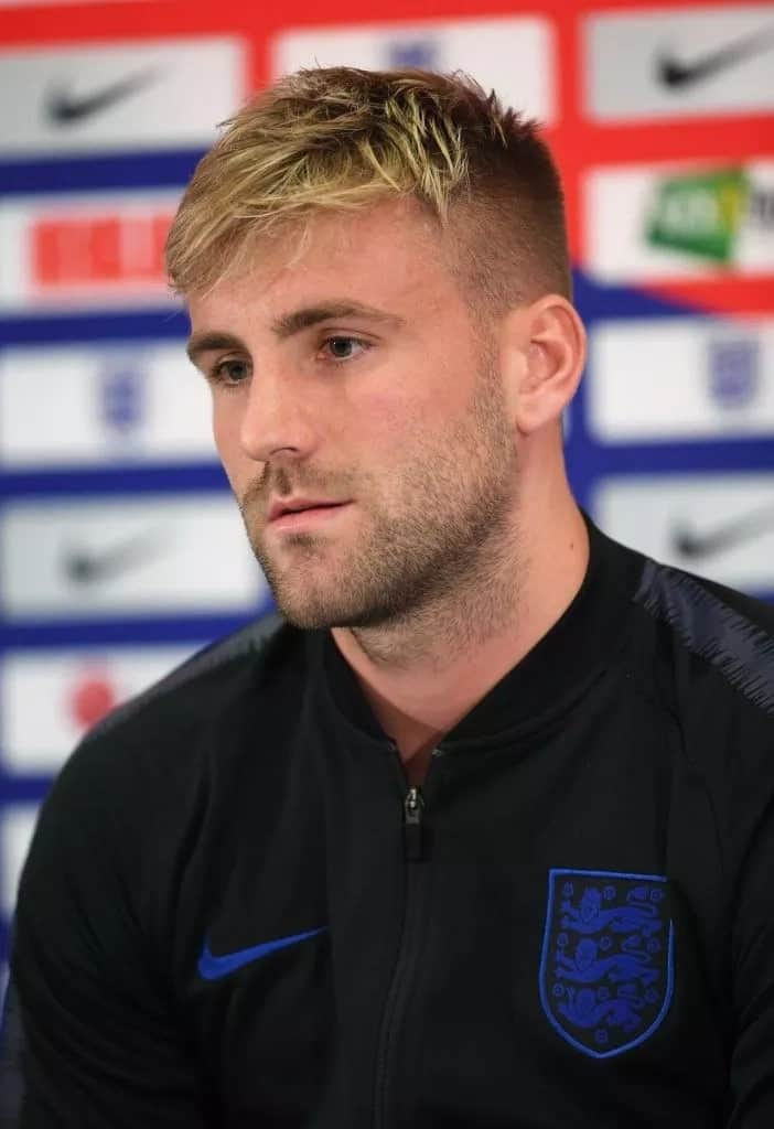 Manchester United left-back Luke Shaw opens up on how he almost lost his right leg