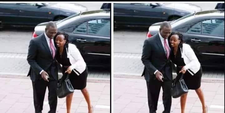 How Uhuru hugs his wife vs how Ruto hugs his wife