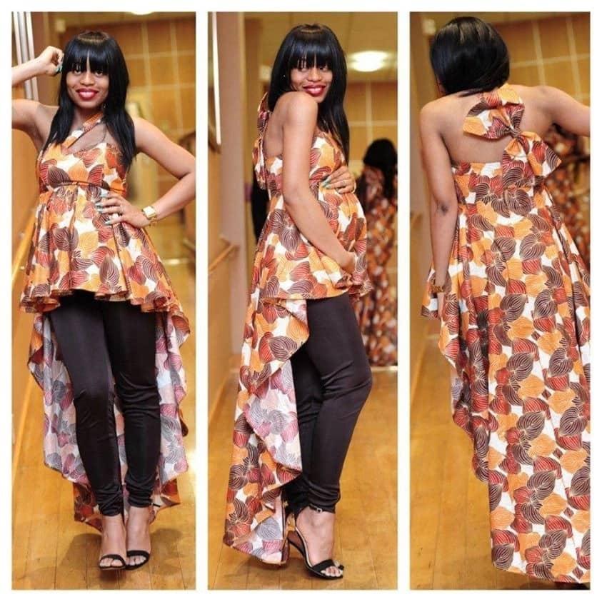 Kitenge top designs for pregnant women