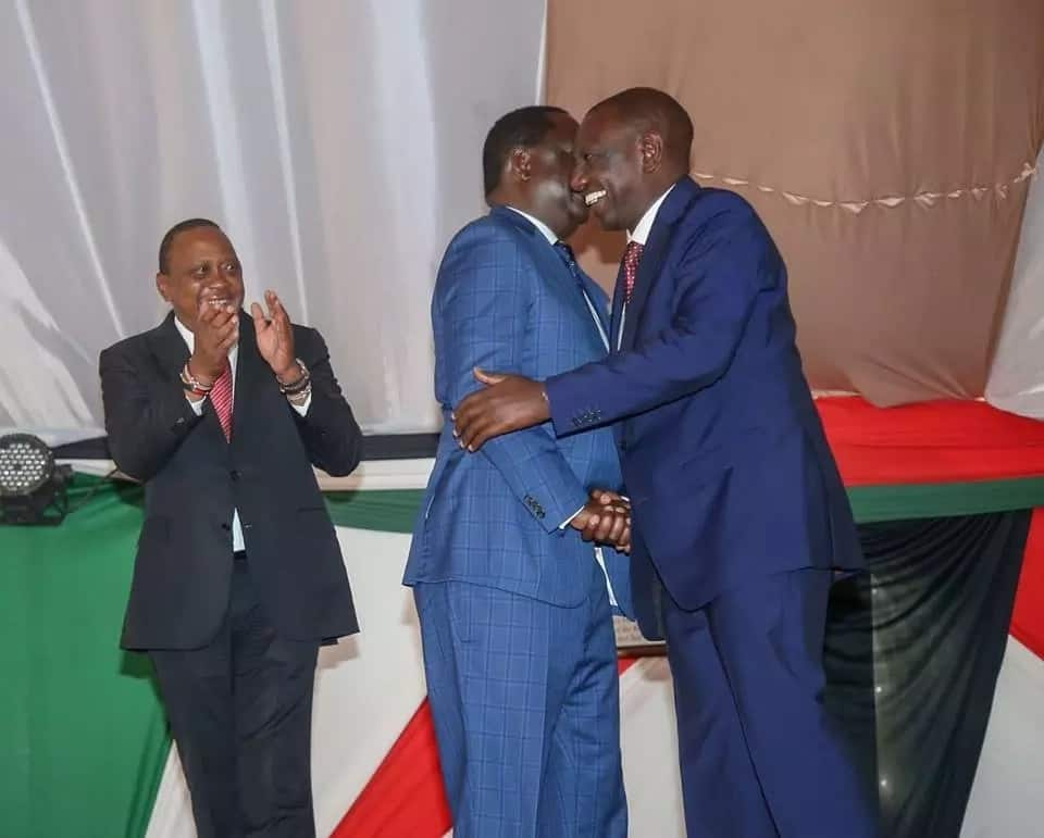 DP Ruto's office calls for handshake day after reconciliation with Raila and Kalonzo