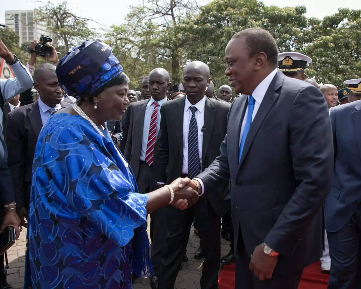 12 photos of Uhuru's mum which prove she is still strong at 86 years