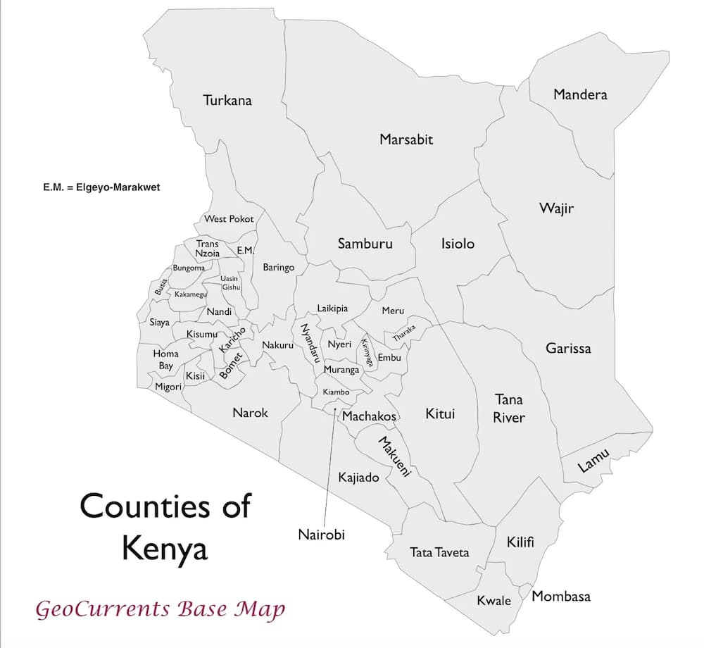 Nairobi Sub Counties Explained in 2019▷ Tuko co ke