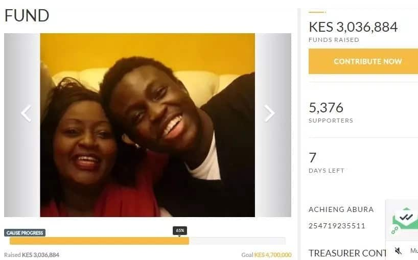 What Kenyans have done to the Achieng' Abura's SICK son will make her smile/shed tears of joy