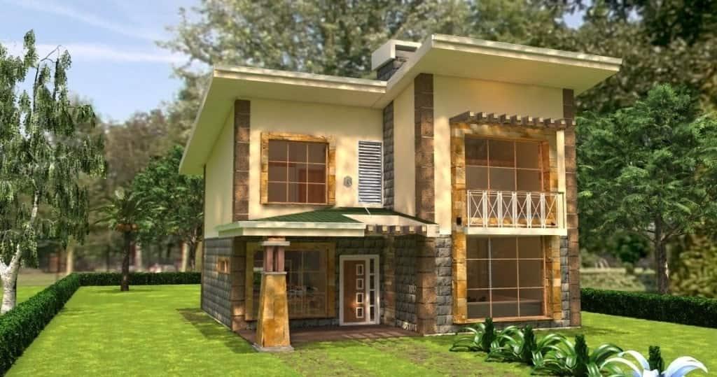4 bedroom maisonette house plans Kenya Maisonette house plans 4 bedrooms Free maisonette house plans Free download house plans Kenya