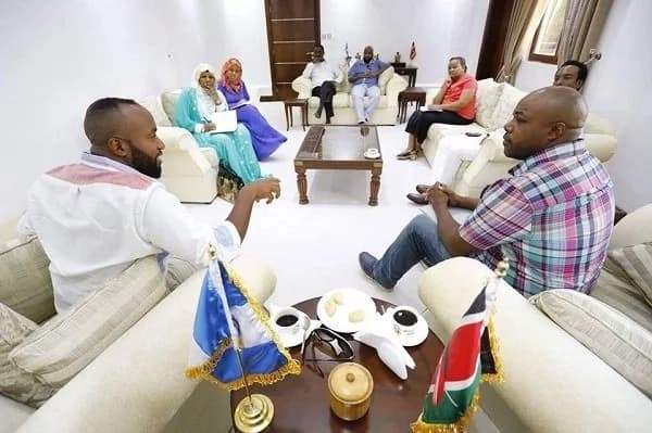 Inside governor Joho's visitors lounge that has left tongues wagging