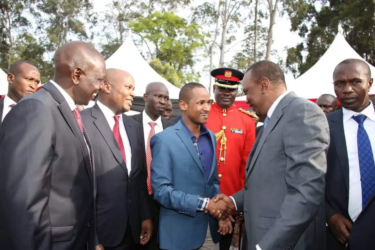 Babu Owino declares he will spent night in Parliament to avoid arrest