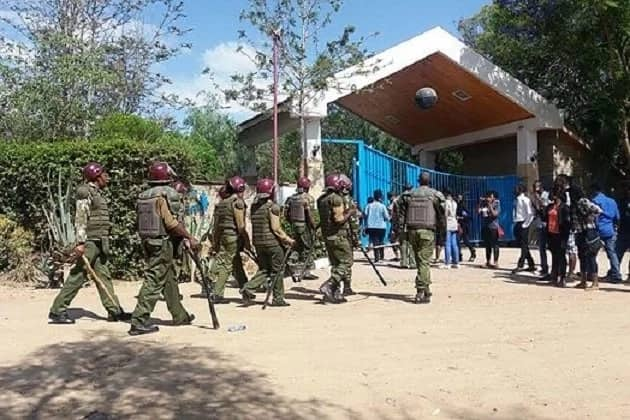 Daystar University crisis escalates, students held captive inside campus