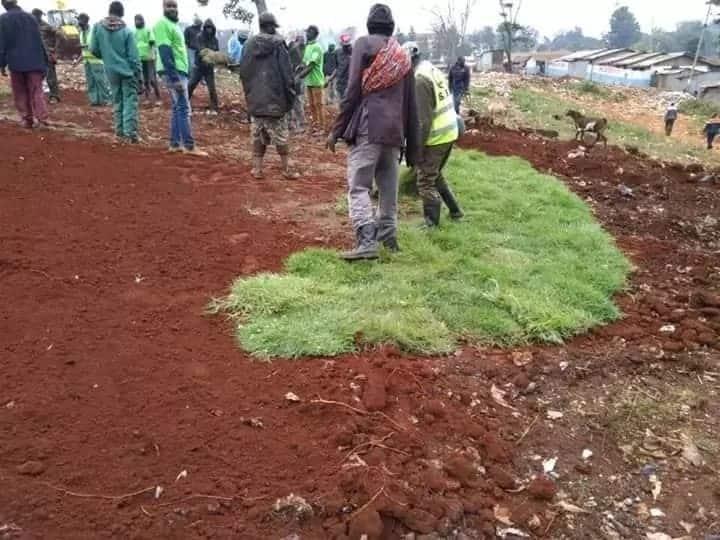 Nairobi county turns part of cemetery into children playground, recreational park