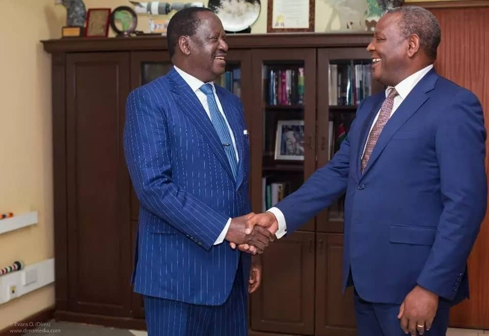 It's not time for politics - Raila unhappy with politicians campaigning for 2022