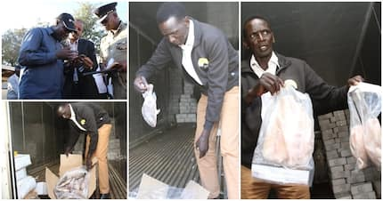 Lorry offloading illegal, rotting Chinese fish impounded in Eldoret