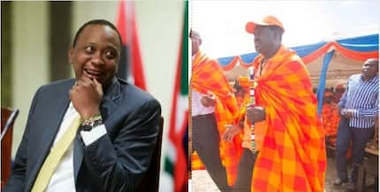 Raila flying out of the country as Uhuru intensifies campaign