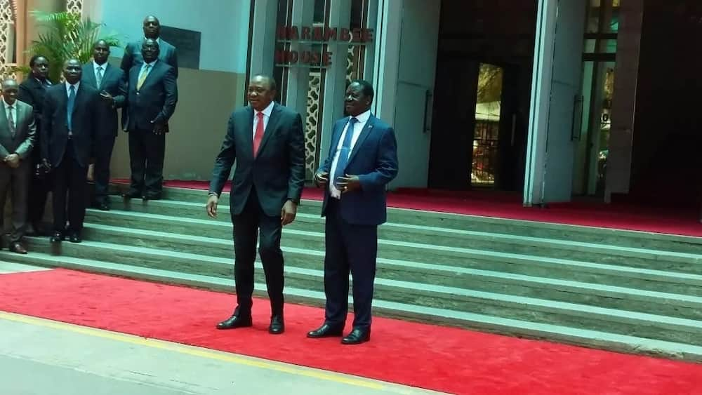 Raila meets Uhuru, agree to end dissent