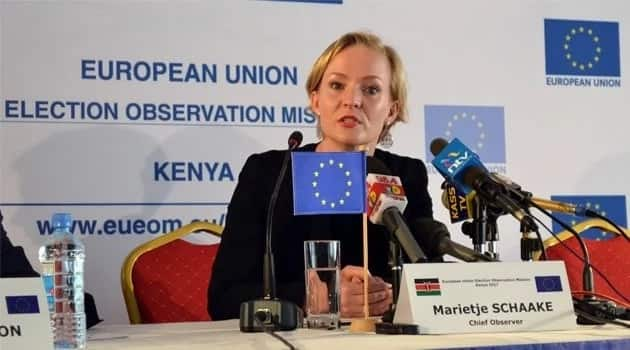 Raila's reluctance to participate in the repeat presidential election worried the EU