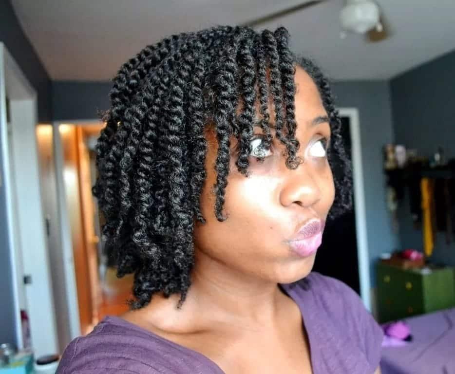 30 Gorgeous Twist Hairstyles For Natural Hair Tuko.co.ke