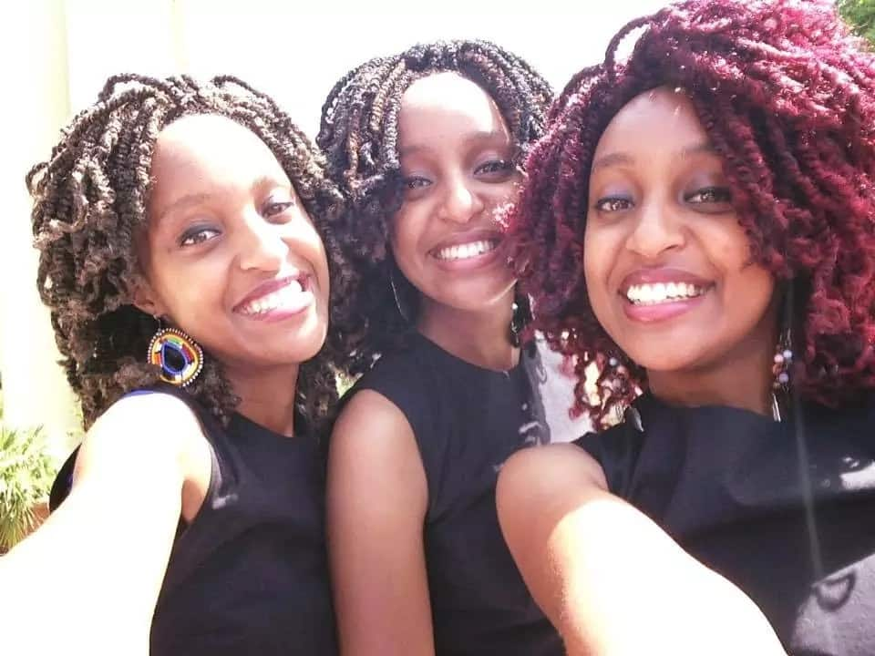 19 extremely sweet photos of identical triplets and singing sensation, the Moipei's, which will confuse you