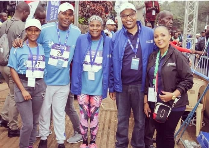 Uhuru Kenyatta's nephew steps out with TV girl months after allegedly ditching Anne Kiguta