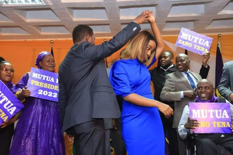 Move over Esther Passaris, Machakos First Lady steals the show at Alfred Mutua's manifesto launch