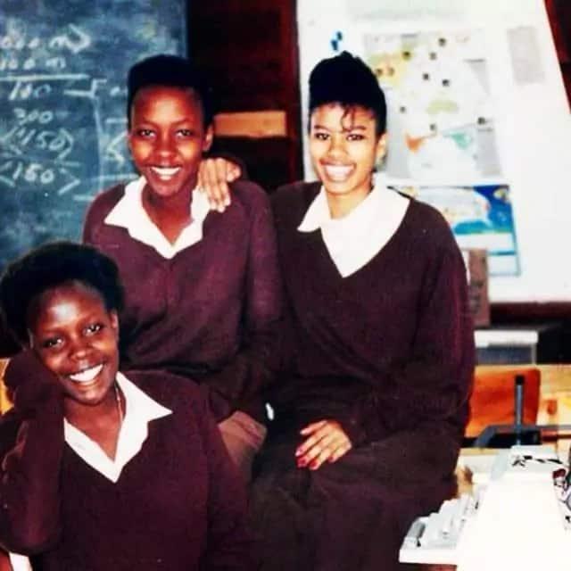 TAZAMA! Julie Gichuru akiwa shuleni (PICHA)