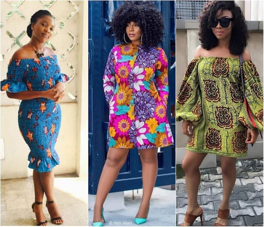 55c08d6a91 Short and long African print dresses for ladies 2018 ▷ Tuko.co.ke
