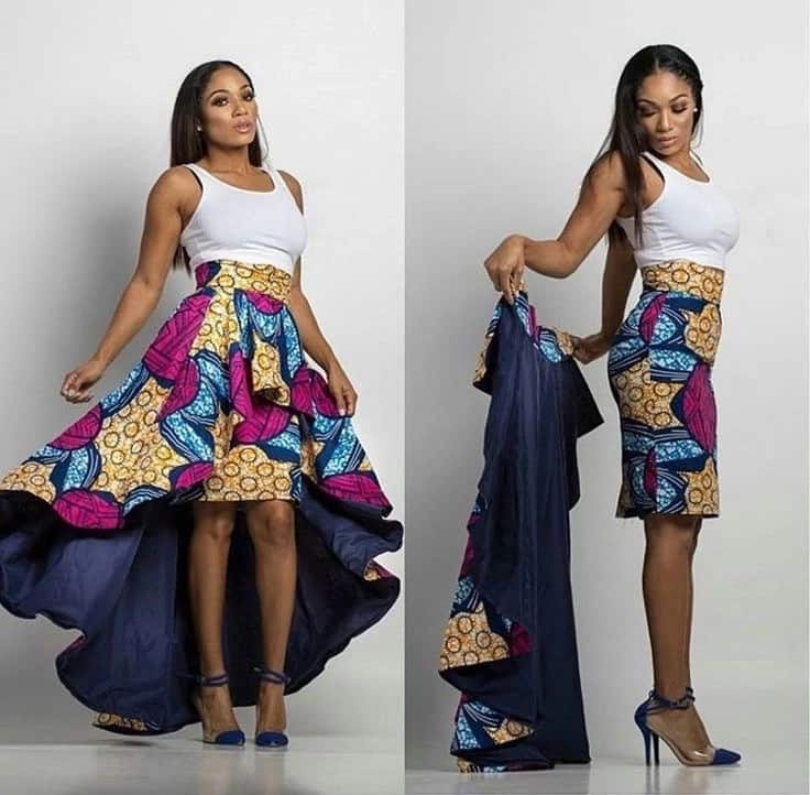african print skirts with pockets, african print skirts, african print skirts kenya
