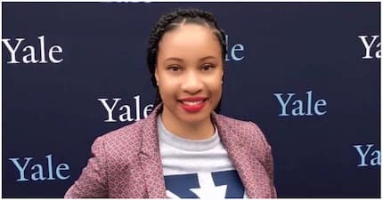 Inspiring! Woman celebrates joining Yale University as staff member after 10 years of hard work
