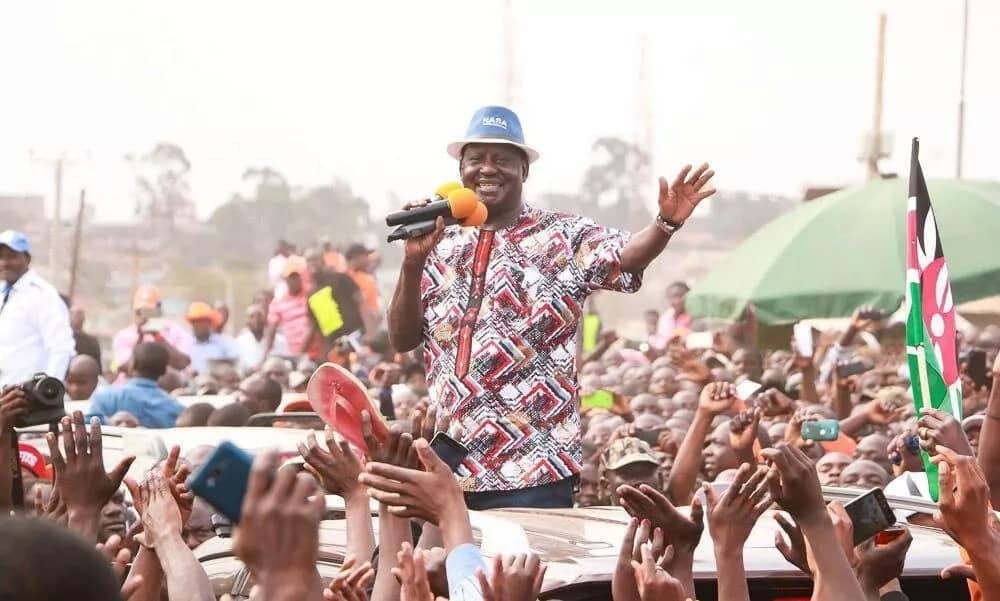I won the presidential race and if anything its Uhuru to seek a share of govt from me-Raila