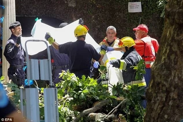 13 people died and dozens others were injured. Photo: EPA