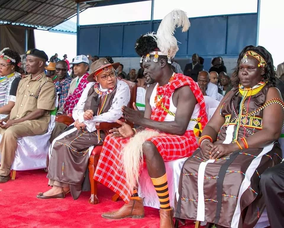 First Lady Margaret Kenyatta slays at the Turkana Cultural festival and it's extremely lovely