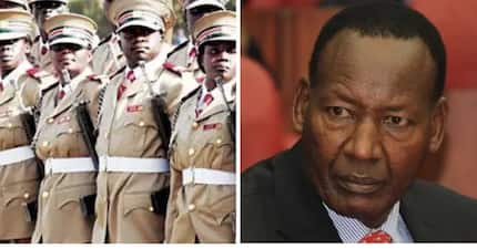 Uhuru's govt to sack 30 chiefs who visited the home of a Jubilee Party gubernatorial aspirant