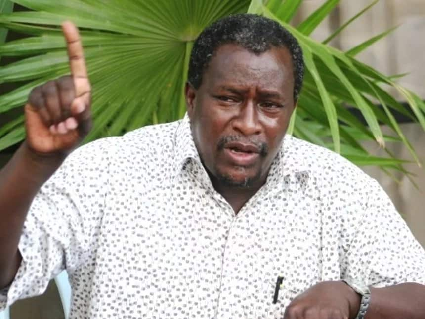 Outspoken politician Kalembe Ndile takes a swipe at new sports CS for being a class 7 drop-out