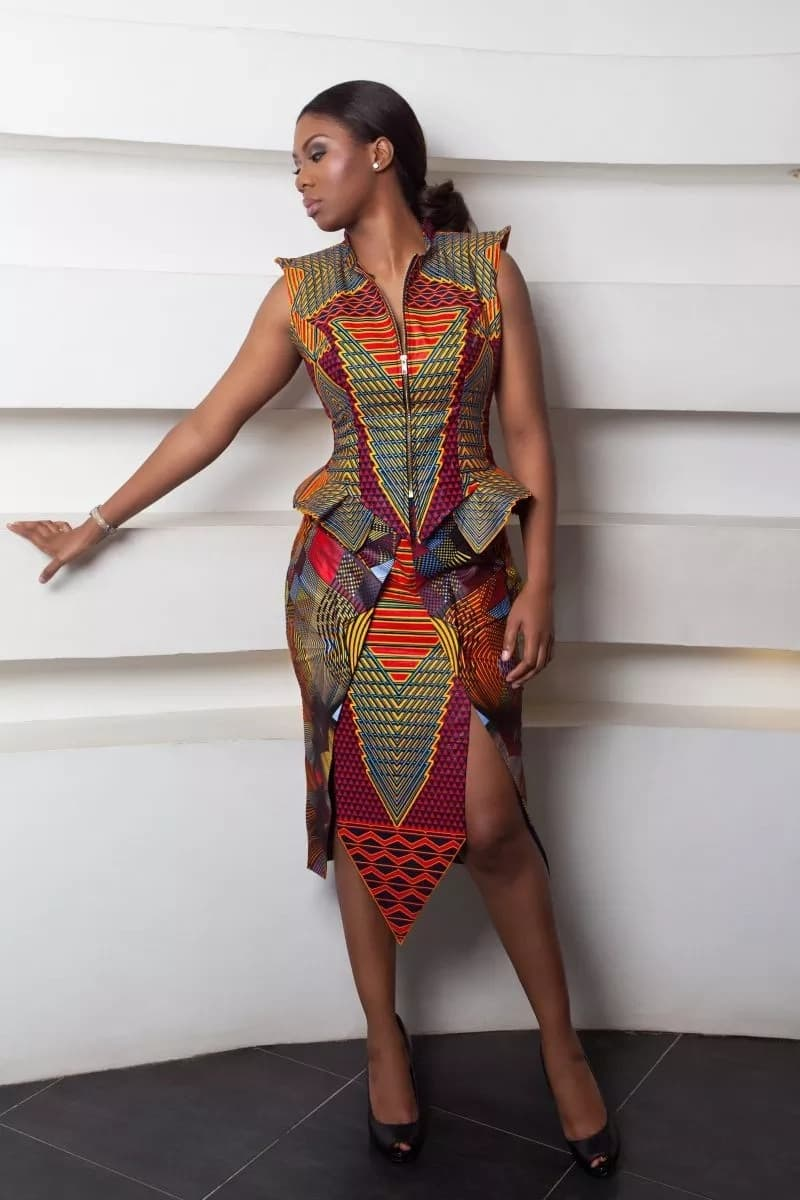 Latest Kitenge Dress Designs For Kenyan Girls Tuko Co Ke