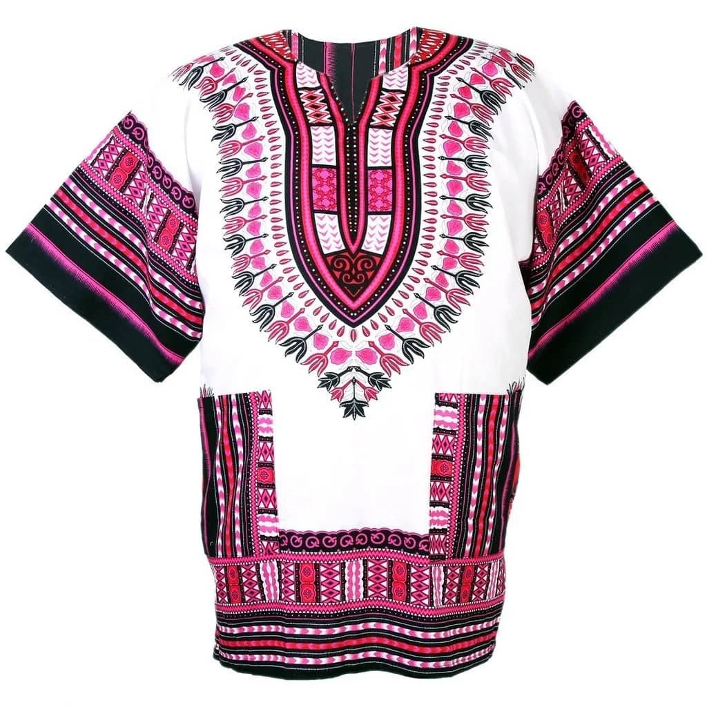 Top dashiki shirt designs for women