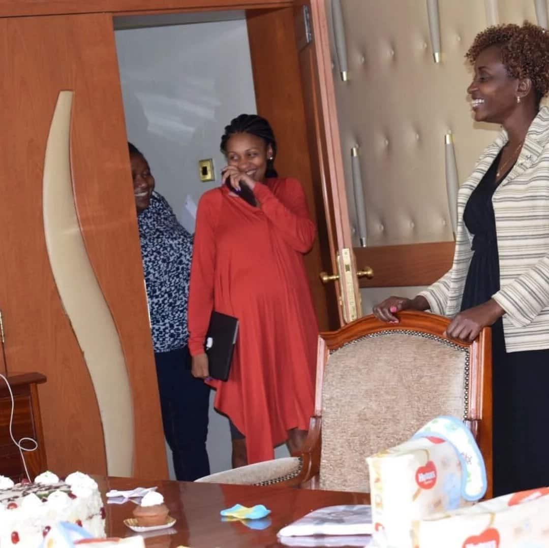 Former KTN news anchor Joy Doreen Biira welcomes second child