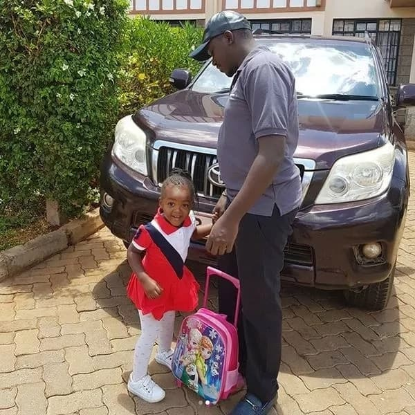 Sonko's former son-in-law plays perfect father figure to step-daughter after dumping own family