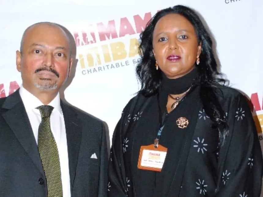 Khalid Ahmed and Amb. Amina Mohamed