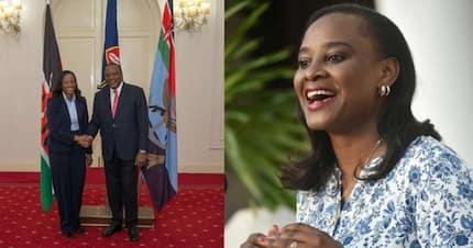 Uhuru confirms Kanze Dena to State House Spokesperson position