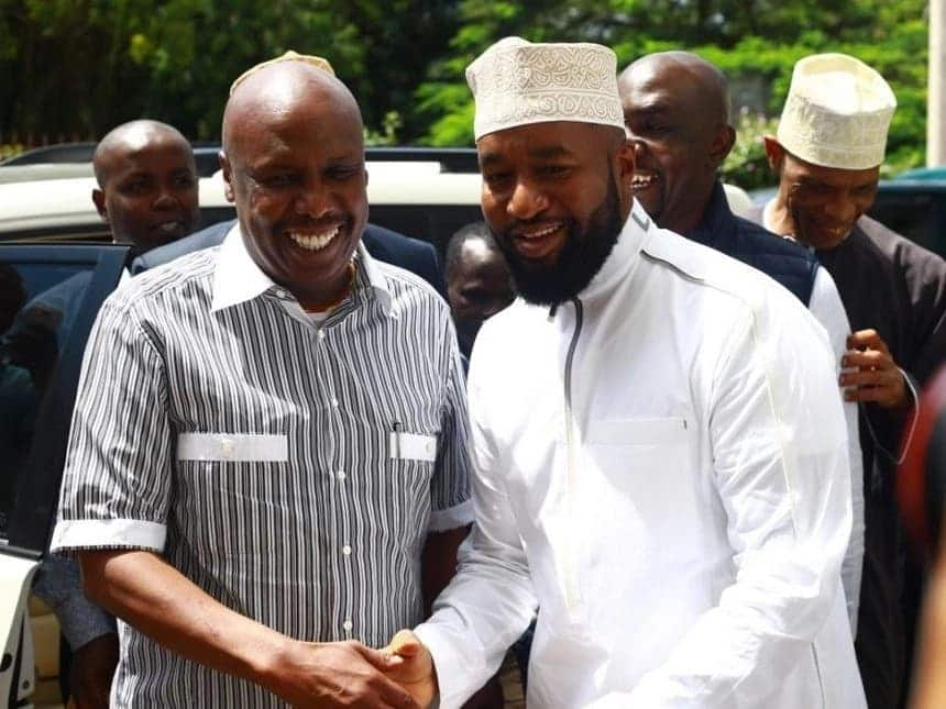 Gideon Moi, allies caught gossiping about Hassan Joho