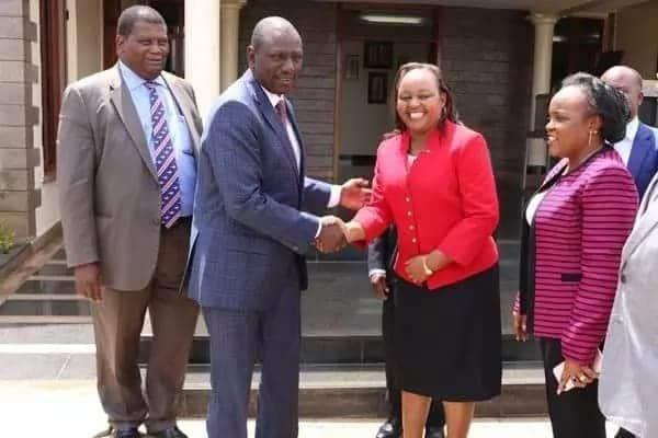 Anne Waiguru na William Ruto wakuwa marafiki wa dhati wa kisiasa